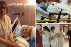 Cụ bà trăm tuổi thắng Covid-19 ở TBN, biểu tượng hy vọng trong thời dịch