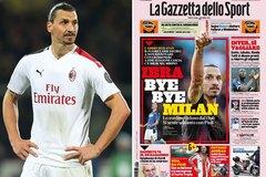Ibrahimovic tính đường rời AC Milan vì lý do khó ngờ