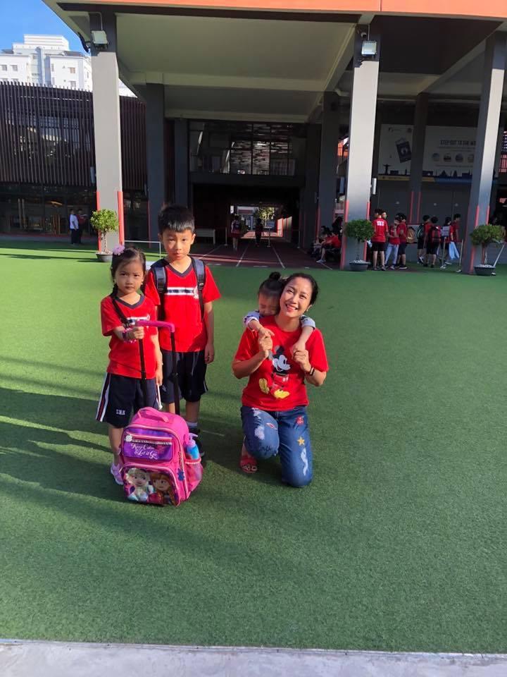 3 thiên thần nhỏ đáng yêu của Ốc Thanh Vân