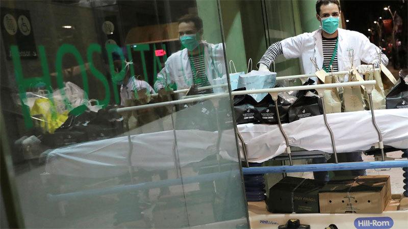 Tây Ban Nha vượt 10.000 ca tử vong, Nga hứng số nhiễm mới kỷ lục