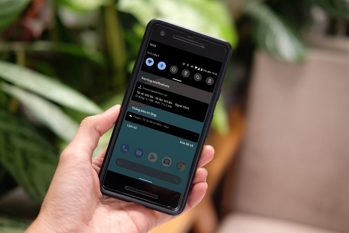Cách theo dõi tốc độ và lưu lượng kết nối 3G/4G trên Android