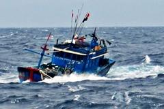 8 ngư dân Quảng Ngãi cùng tàu cá mất tích ở Hoàng Sa