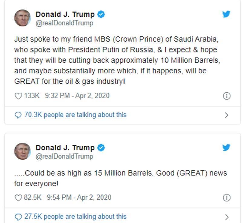 Một dòng tweet gây chấn động, Donald Trump đảo ngược cuộc chơi