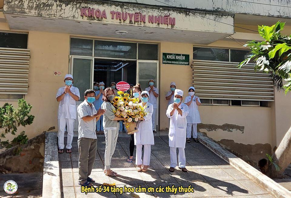 Bệnh nhân 34 siêu lây nhiễm và 6 người được công bố khỏi bệnh