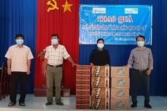 """Trao quà hiện vật gần 120 triệu đồng """"tiếp sức"""" biên cương Tây Ninh phòng, chống COVID-19"""