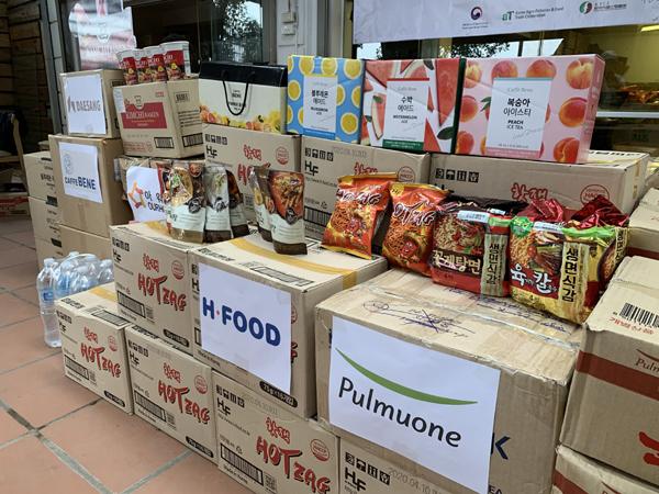 'I Like K Food' tiếp sức BV Bạch Mai bằng thực phẩm ngon Hàn Quốc