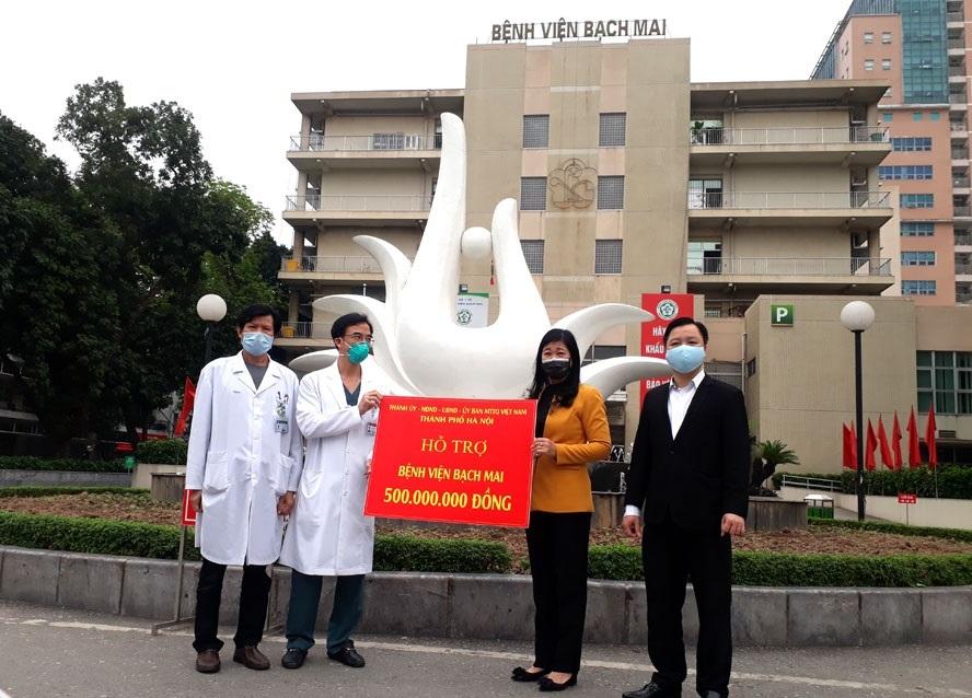 BV Bạch Mai thông báo dừng nhận ủng hộ từ cộng đồng