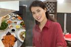 Bạn gái Á hậu của Chí Trung khoe tài nấu nướng toàn món nhìn là thèm