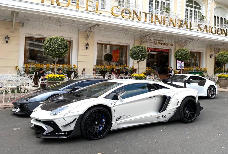 Ngắm siêu xe Lamborghini Aventador LP700-4 đắt nhất Việt Nam 4 lần đổi màu