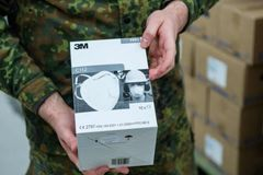Coronavirus: US accused of 'piracy' over mask 'confiscation'