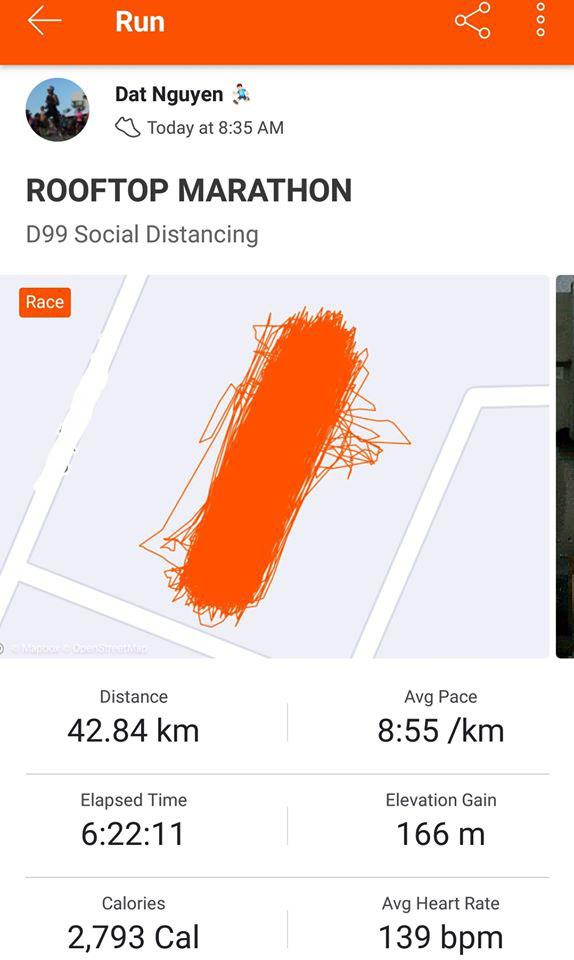Người Việt chạy Marathon 'siêu dị' mùa dịch Covid-19