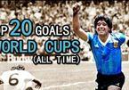 Chiếu lại 20 bàn thắng đẹp nhất lịch sử World Cup