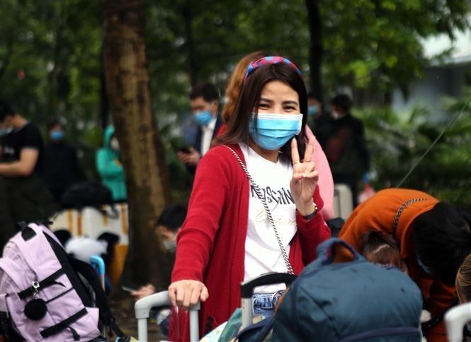 Nearly 600 people finish quarantine time in Hanoi