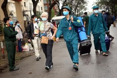 Nearly 600 people finish quarantine time in Hanoi