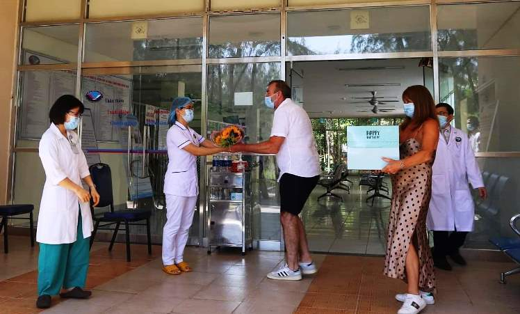 Bệnh nhân 57 mắc Covid-19 ở Quảng Nam xuất viện