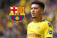 Bế tắc Neymar, Barca chuyển hướng lấy Jadon Sancho