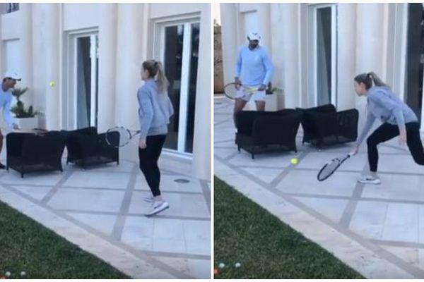 """Đây là cách Rafael Nadal """"luyện công"""" mùa Covid"""