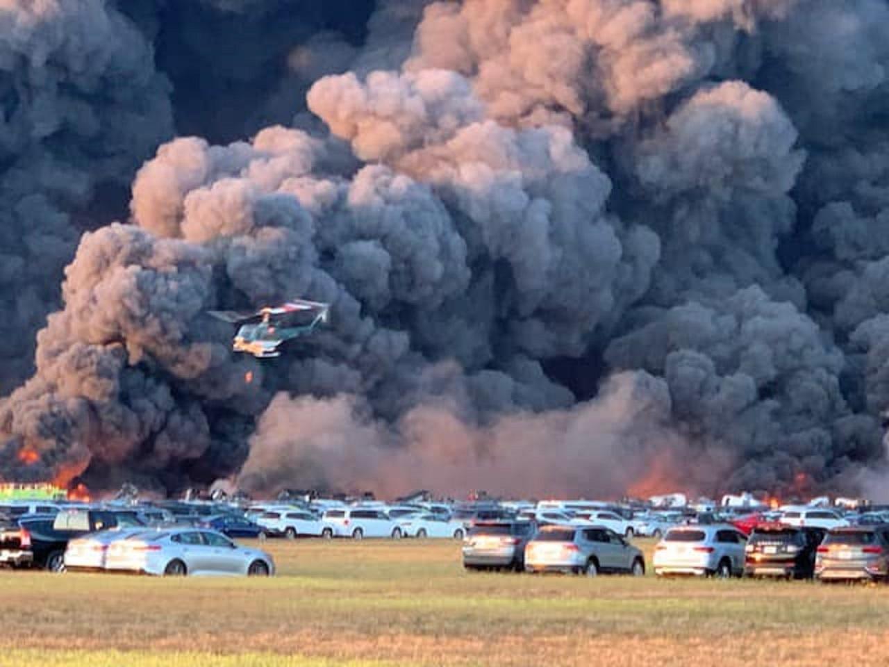 Hỏa hoạn thiêu rụi 3.500 xe ô tô tại Mỹ