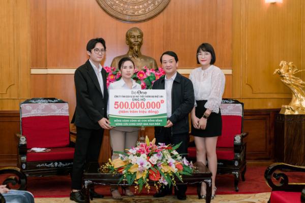 CEO 9x Linh Phạm ủng hộ 500 triệu đồng cho miền Tây chống hạn