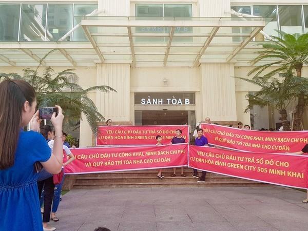 'Om' quỹ bảo trì, ông chủ chung cư 'dát vàng' ở Hà Nội bị phạt trăm triệu