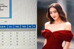 Sự thật bảng điểm toàn 0 của Hoa hậu Lương Thuỳ Linh