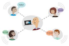 4 quy tắc ứng xử khi giao tiếp trên mạng