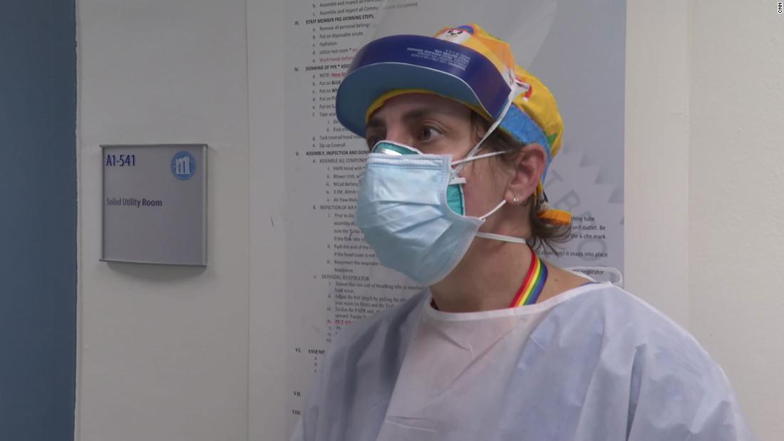 Cảnh đau lòng trong phòng cấp cứu Covid-19 tại New York