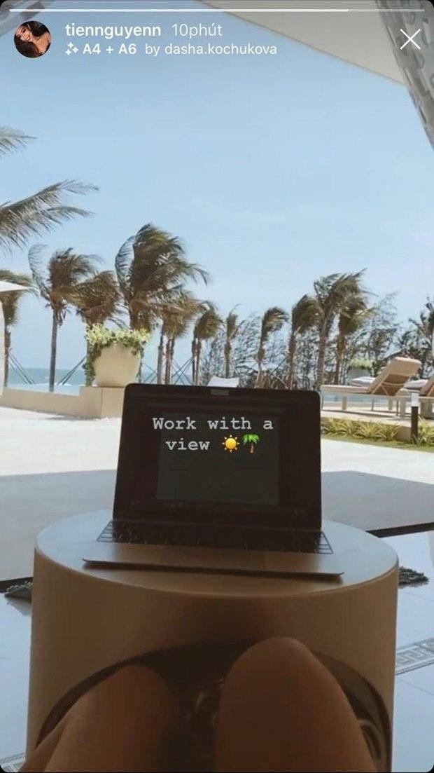 Tiên Nguyễn tự cách ly thêm 14 ngày tại villa riêng sang trọng