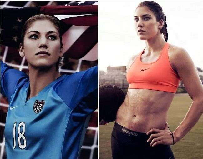 Top 10 nữ cầu thủ quyến rũ nhất bóng đá thế giới