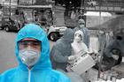 'Người vận chuyển' thầm lặng trong khu cách ly Bạch Mai