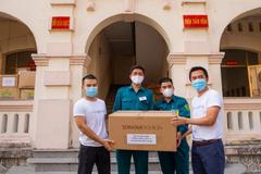 Sơn Kim Retail chung tay hỗ trợ tuyến đầu chống dịch Covid-19