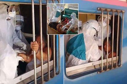 Nữ khách Thái Lan từ chối đeo khẩu trang, nhổ nước bọt tung tóe trên tàu