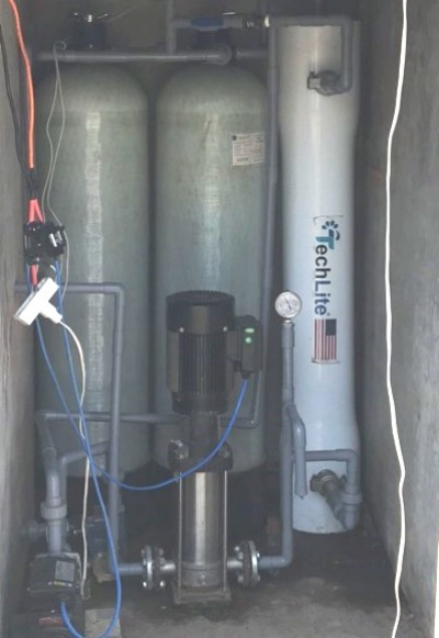 Xuất hiện nhiều 'Hai lúa' chế ra máy làm nước ngọt mùa hạn mặn