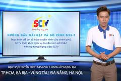 SCTV cung cấp dịch vụ truyền hình số DVB-T2 ở TP.HCM
