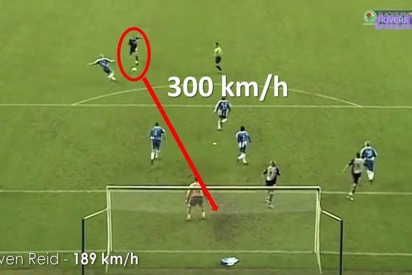 Ronaldo, Roberto Carlos và những cú sút đi với tốc độ tên lửa