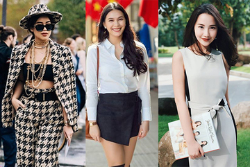 Những ái nữ xinh đẹp, sành điệu của các đại gia Việt