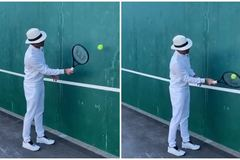 Federer thách thức Bill Gates, Ronaldo, Messi chơi tennis