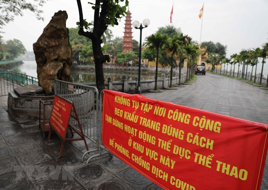 Worshipping places in Hanoi deserted due to COVID-19