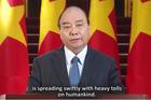 Thông điệp của Thủ tướng gửi hội nghị trực tuyến của WHO