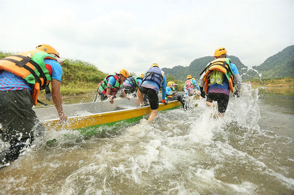 Quang Binh,Tu Lan Adventure Race,Oxalis