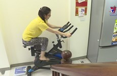Home workouts become more popular during epidemic