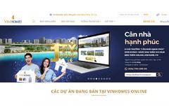 Vinhomes ra mắt sàn giao dịch bất động sản trực tuyến