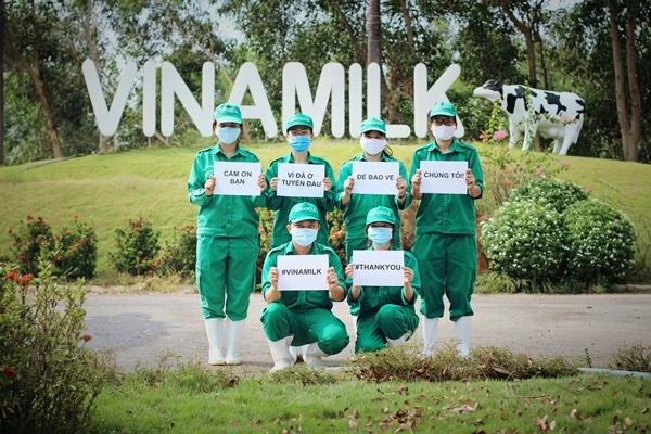 Tiếp sức cho tuyến đầu chống dịch, Vinamilk ủng hộ gần 15 tỷ đồng