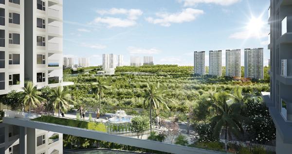 Sắp ra mắt tòa tháp đôi 41 tầng cùng loạt tiện ích tầm cỡ ở Ecopark