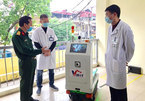 Robots deployed in high-risk infection areas to combat COVID-19