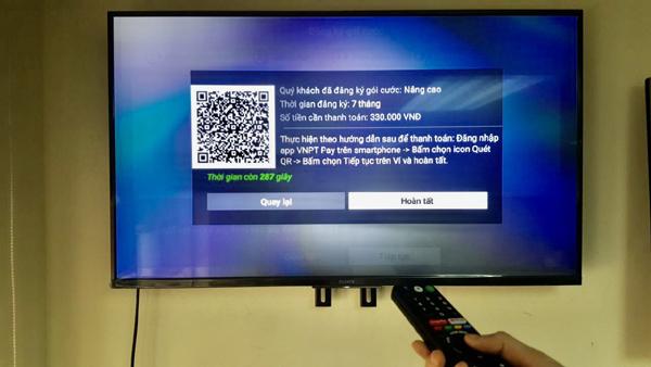 Cài đặt và đăng ký sử dụng truyền hình MyTV trực tiếp trên Tivi