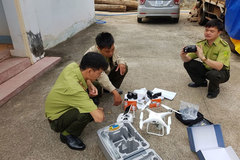Dong Nai uses drones to patrol forests