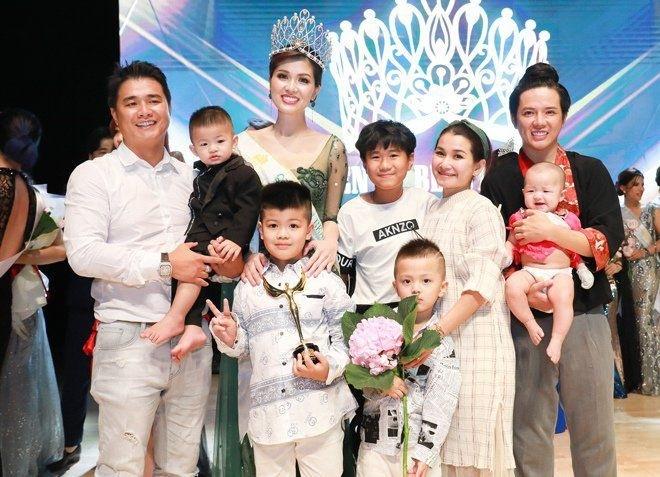 Hoa hậu Oanh Yến sinh con thứ 6
