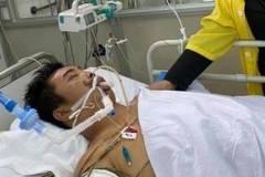 Gặp tai nạn khi đi tình nguyện, chàng trai nghèo nguy kịch tính mạng