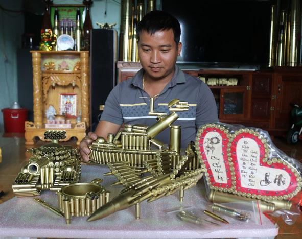 Trai trẻ Đắk Lắk 'hô biến' vỏ đạn thành khoản lãi ròng 1 tỷ đồng/năm